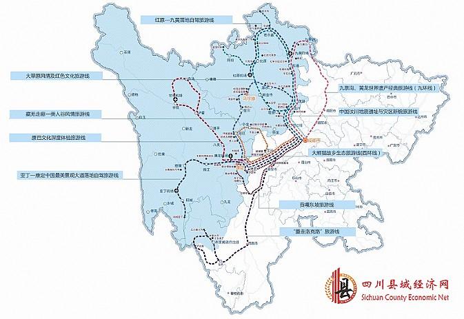 2014年四川藏区十大旅游线路示意图   阿坝州若尔盖草原牧民   凉山