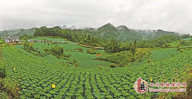 广元大山风景图片